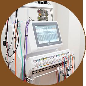 電気治療の写真